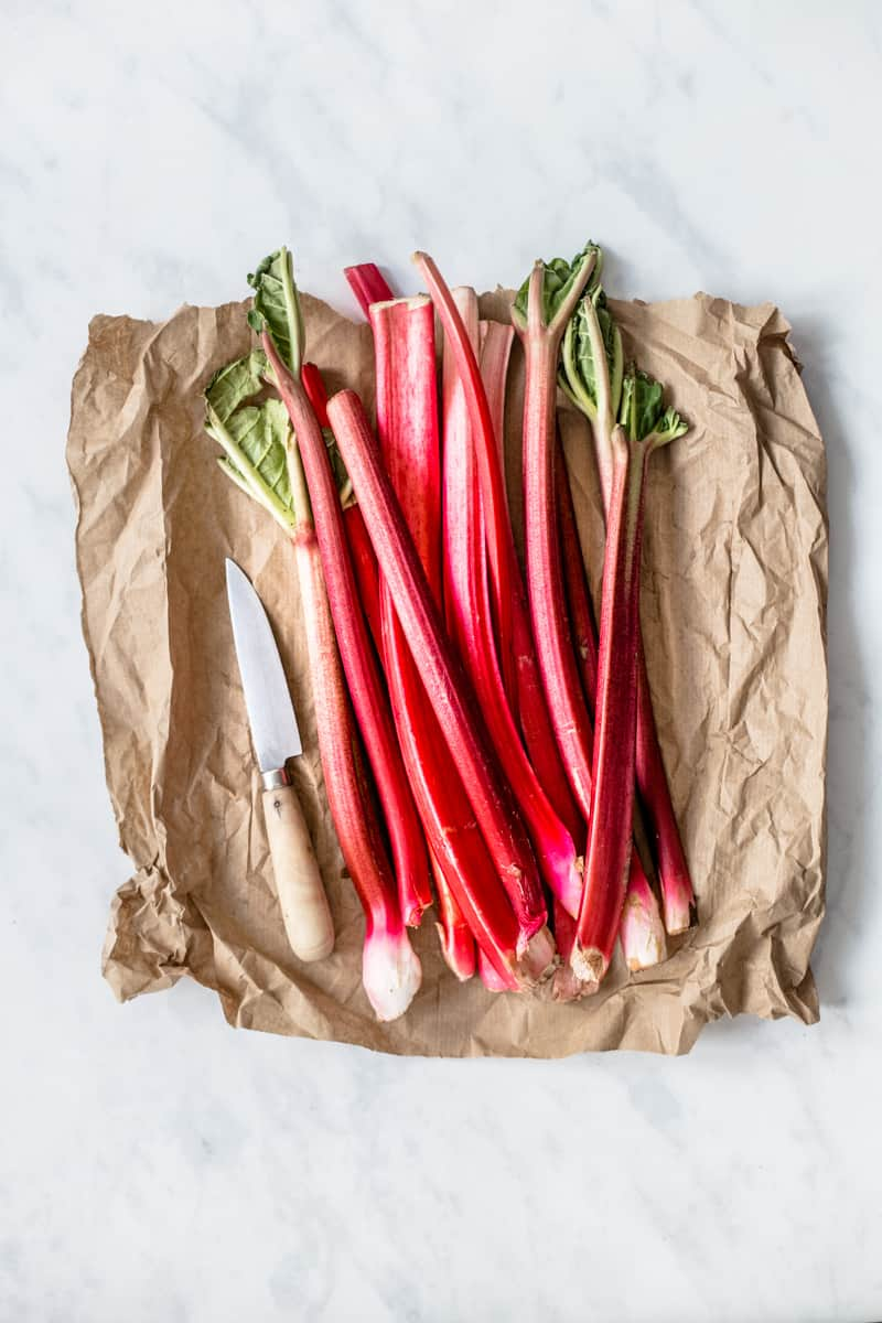Fresh Rhubarb by Emma Duckworth Bakes