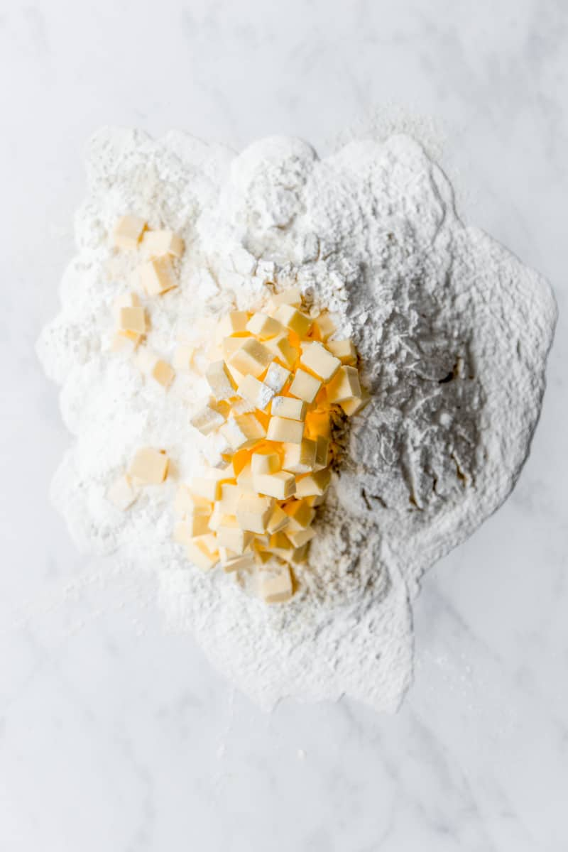 Emma Duckworth Bakes Flour and Butter Ingredients Shot