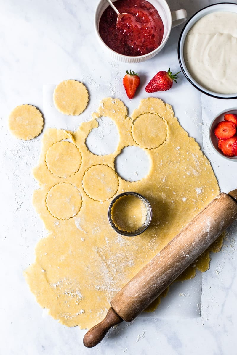 Strawberry Cream Cheese Handpies Process image by Emma Duckworth Bakes
