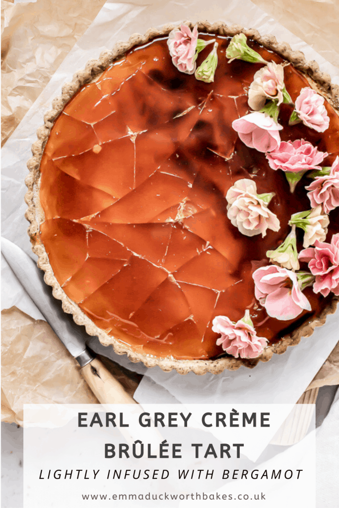 Earl Grey Tart Pinterest Graphic