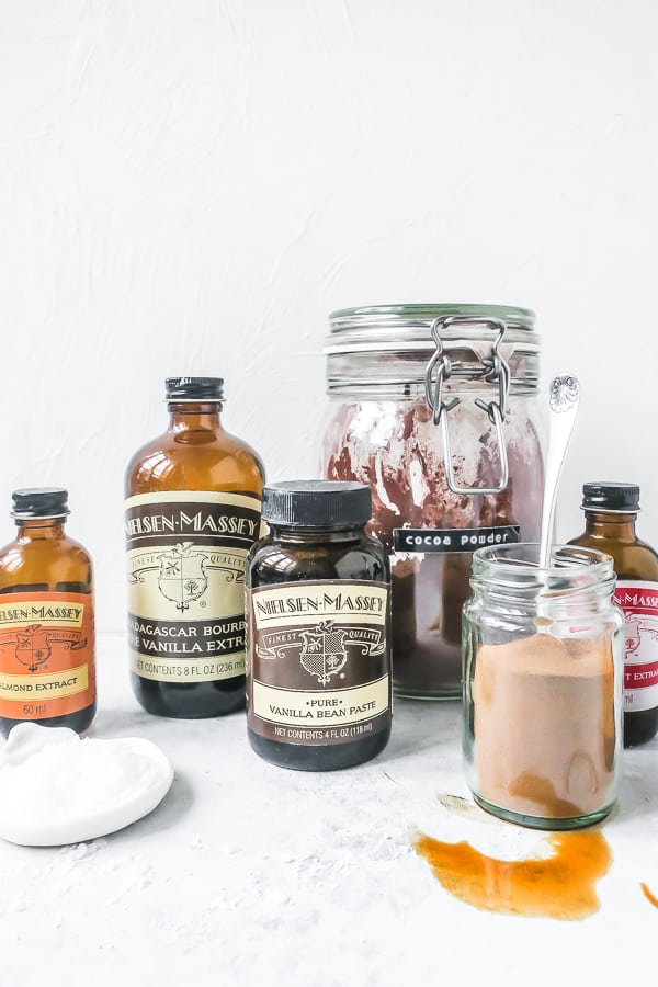 Flavourings used in baking