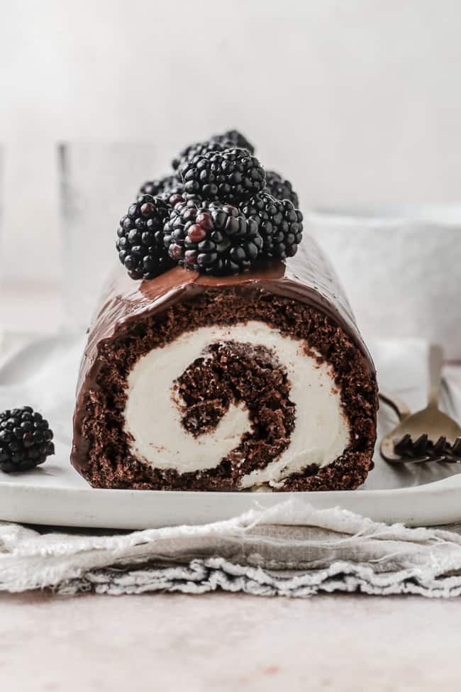 Chocolate Swiss Roll