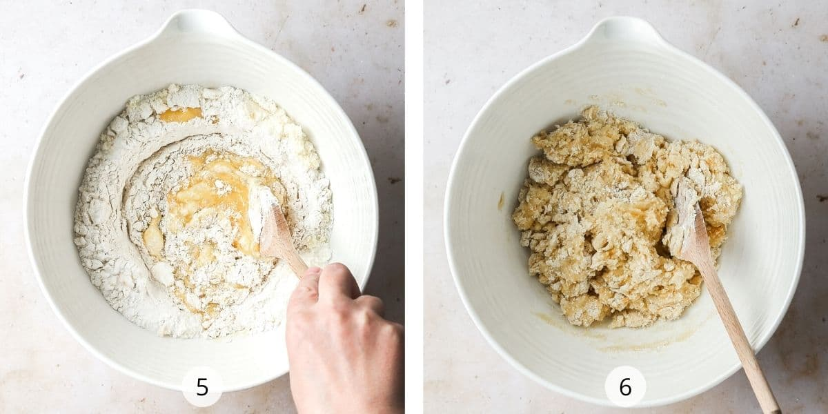 Process of making traditional almond biscotti